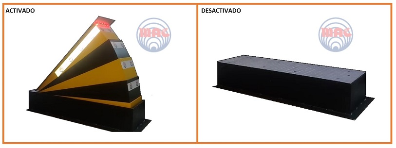Mini Road Blocker Eco INTECSEC